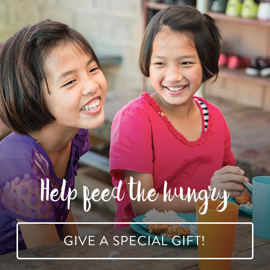 Help Feed the Hungry - Give a Special Gift