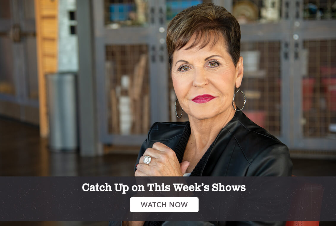 Joyce Meyer Ministries Hand Of Hope Everyday Answers Conference