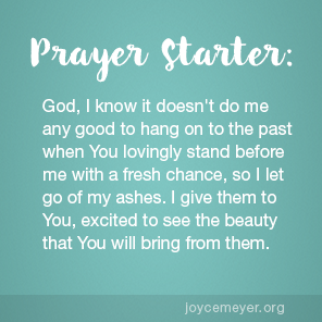 daily devo give him your ashes