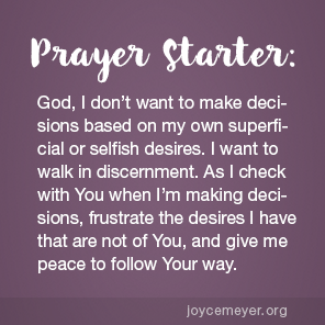 Prayer for discernment in relationships