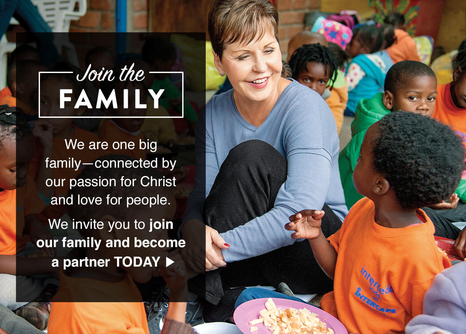 Join the Family - Partner today.